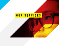 DAVIES MEYER - Creative agency website design