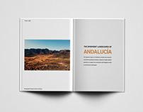 Spain - editorial design