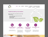 Webdesign a vytvoření webu projekční kanceláře Vyškov