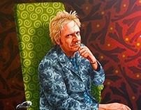 Portrait of a Welshman, Illtyd Barrett