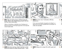 Advertising Work Storyboards