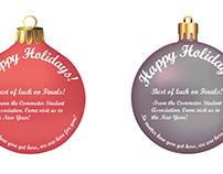 Happy Holidays - CSA Cards
