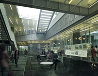 Yonsei University Cyber Exhibition Room -CGI