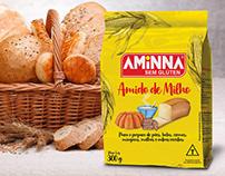 Design de Embalagem para Farináceos Aminna