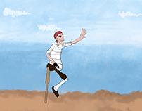 Walk Cycle - Pirate
