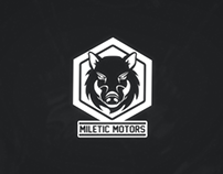 Miletic Motors - Logo GIF