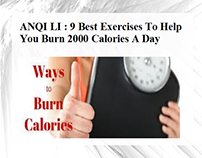 ANQI LI - Best Exercises Burn 2000 Calories A Day