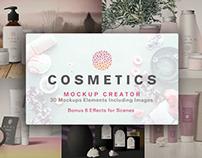 Free Cosmetics Mockups: 30 Elements + 6 Bonus Effects