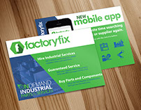 Factory Fix Promo | Print Design