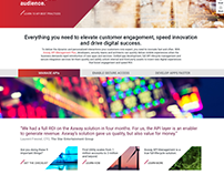 Axway Website: Drupal 7, Github, CSS3, Bootstrap 3
