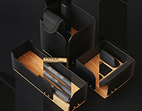 - HUGS - Desk set