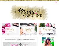 Layout para blog - Confira meu blog online no perfil.