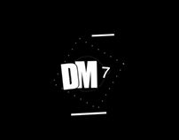 """DM7"" Logo Animation"