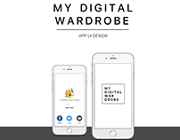My Digital Wardrobe App Ui Design