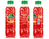 Label for Volvic Juicy