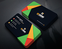 Corporate Business Card Free Designed by HM Design