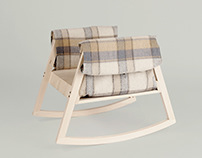 Rocking stable chair