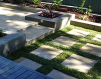 Outdoor hardscaping