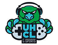 UHCL E-sport Logo