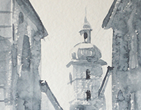 Architectural Watercolours