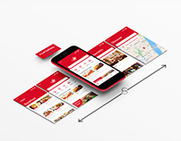 Food Delivery App Design