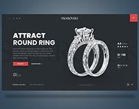 swarovski shop   free adobeXD web design   freebie xd