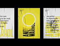 Type Poster Collection — The Andy Warhol Museum®