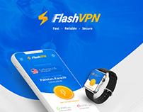 Flash VPN App