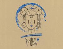 Identité visuelle Milo Micha