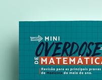 Flyer | Mini Overdose de Matemática - Salinha Teorema