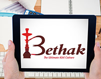 Bethak Logo Design