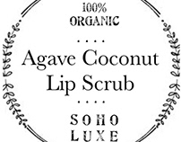 Soho Luxe - organic cosmetics - packaging/label design