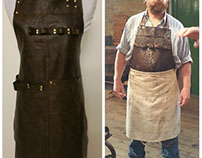 Custom made aprons - Leerdammer
