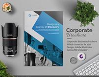 Corporate Bi fold Multipurpose Brochure Design.