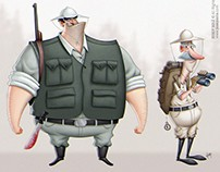 Good Explorers: Character Design