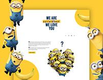 MINIONS - Fan Made Website