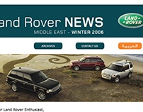 eNewsletters - LAND ROVER