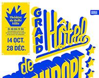 Théâtre de Belleville - Saison 2014 - 2015