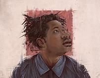 Sampha illustration