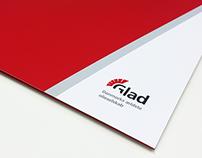 Glad logotype design