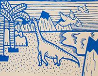 Fanzine Don Rex | Serigrafía a dos tintas