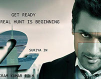 """Suriya 24 the Movie"""" unofficial poster"""