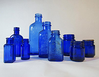 Antique Bottle Arrangements