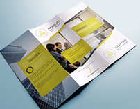 Free Corporate Business Tri-Fold Brochure