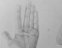 Hand/foot sketch