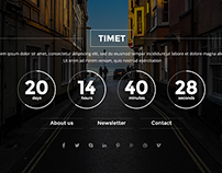 TIMET -  free coming soon template