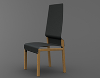 Personnal project : Indus chair - 2014