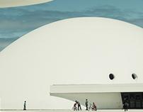 Oscar Niemeyer International Cultural Center in Spain