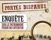 """Exposition """"Portés Disparus"""" - Manoir du Tourp"""