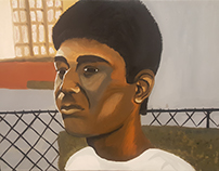 Oil Painting of Brother